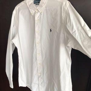 Mens Ralph Lauren Custom Fit Shirt Large